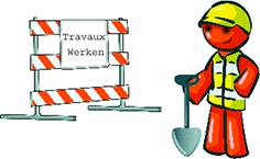 Travaux à Berchem Sainte-Agathe